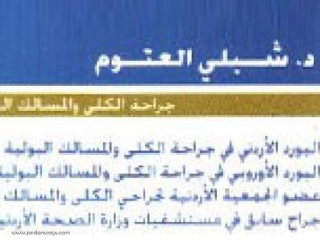 الدكتور شبلي العتوم